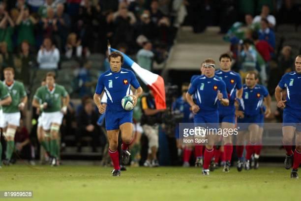Fabien GALTHIE Irlande / France 1/4 finale Coupe du Monde 2003 Melbourne