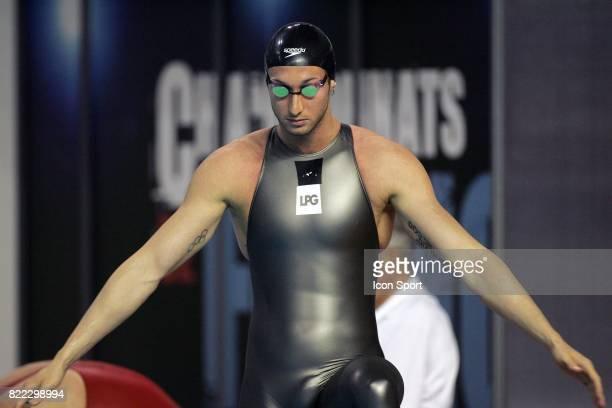 Fabien GILOT 50m Nage Libre Championnats de France Piscine Antigone Montpellier