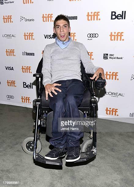 Fabien Heraud attends The Finishers premiere during the 2013 Toronto International Film Festivalat TIFF Bell Lightbox on September 7 2013 in Toronto...
