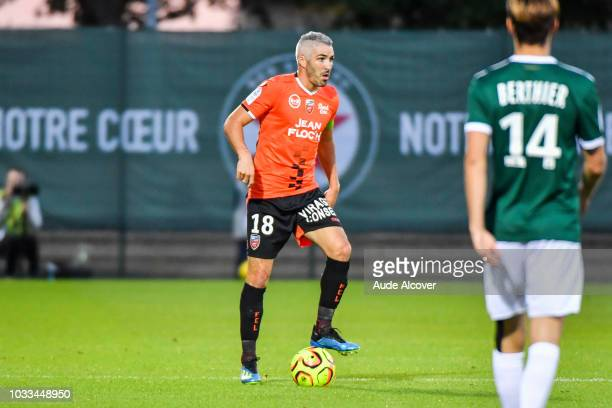 Fabien Lemoine of Lorient during the French Ligue 2 match between Red star and Lorient at Stade Pierre Brisson on September 14 2018 in Beauvais France