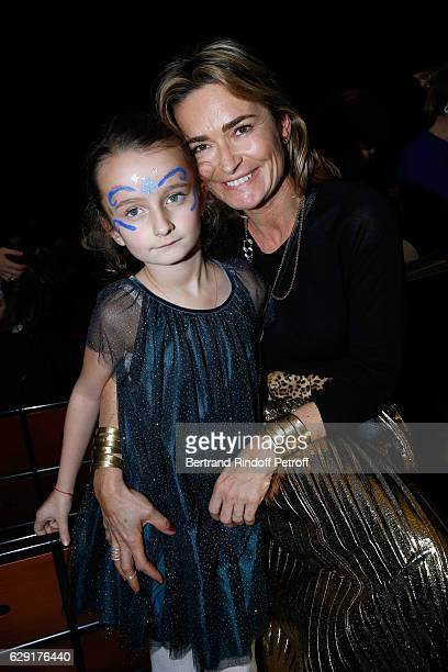 Fabienne Bazire and her daughter attend the 'Reves d'Enfant' Charity Gala with the representation of 'Le Lac des Cygnes' at Opera Bastille on...