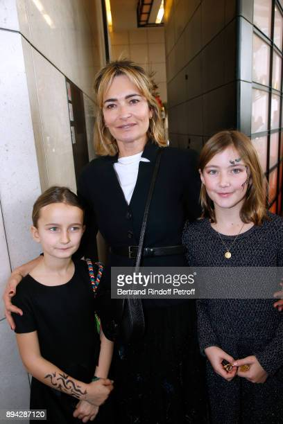 Fabienne Bazire her daughter Marie Bazire and her niece Prune Achar attend the 32th 'Reve d'Enfants' Charity Gala at Opera Bastille on December 17...