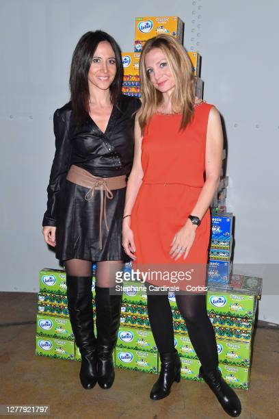 """Fabienne Carat and daughter Carole Carat attend the """"Lotus By Mika"""" : Launch Party as part of Paris Fashion Week - Womenswear Spring Summer 2021 on..."""