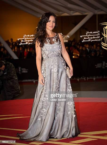 Fabienne Carat attend the 'Cinecoles Jury members' award ceremony as part as 14th Marrakech International Film Festival on December 12 2014 in...