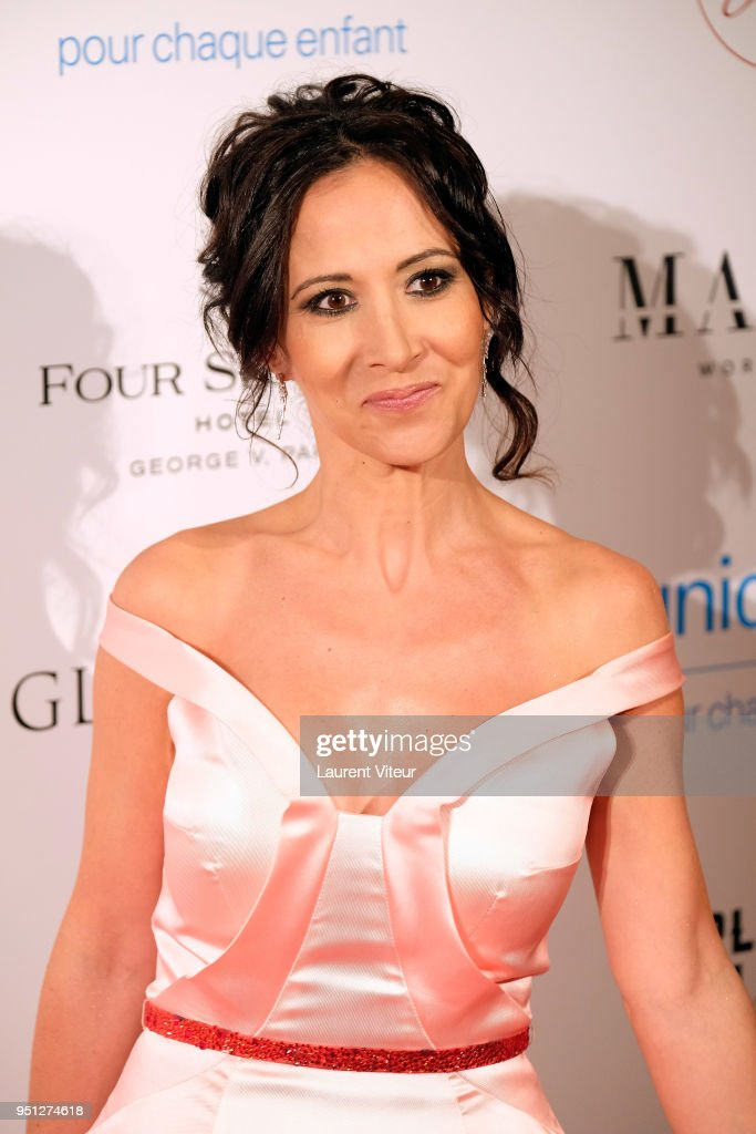 Global Gift Gala : Photocall At Hotel Georges V In Paris : News Photo