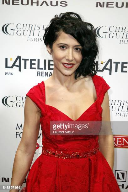 Fabienne Carat attends the Christophe Guillarme show as part of the Paris Fashion Week Womenswear Fall/Winter 2017/2018 on March 1 2017 in Paris...