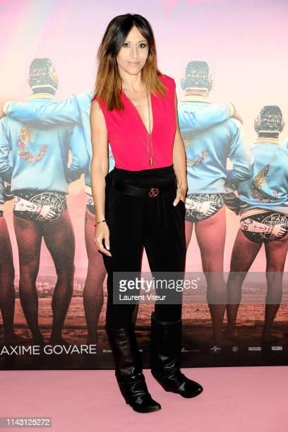 Fabienne Carat attends The Les Crevettes Paillettees Premiere At Cinema Le Grand Rex on April 16 2019 in Paris France