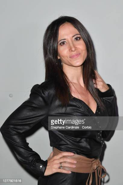 """Fabienne Carat attends the """"Lotus By Mika"""" : Launch Party as part of Paris Fashion Week - Womenswear Spring Summer 2021 on October 01, 2020 in Paris,..."""