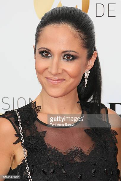 Fabienne Carat attends the opening ceremony of the 54th Monte Carlo TV Festival at the Grimaldi Forum on June 7 2014 in MonteCarlo Monaco