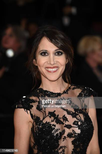 Fabienne Carat attends the screening of Sorry We Missed You during the 72nd annual Cannes Film Festival on May 16 2019 in Cannes France