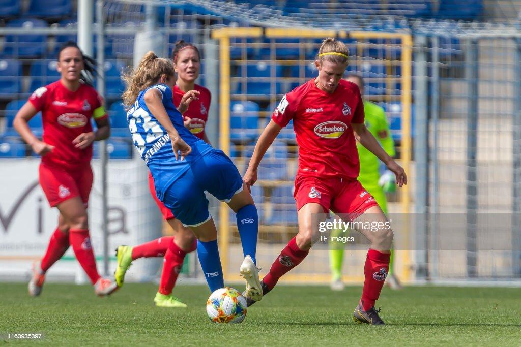TSG Hoffenheim v 1. FC Koeln - FLYERALARM Frauen Bundesliga : News Photo