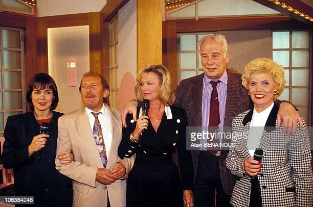 Fabienne Egal x evelyne leClercq jean amadou simone garnier in Paris France on November 08 1991