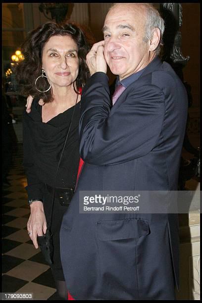 Fabienne Servan Schreiber and Henri Weber at AixenProvence Classical Music Gala Festival