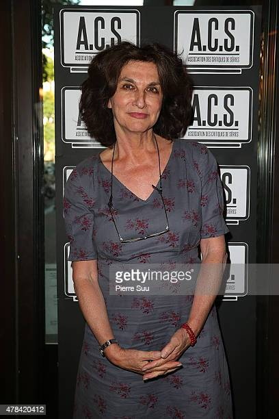 Fabienne ServanSchreiber attends the Association des Critiques de Series award ceremony at Mauzac bistrot on June 24 2015 in Paris France