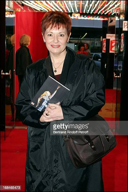 Fabienne Thibeault at Dalida TV Film Tribute To The Singer