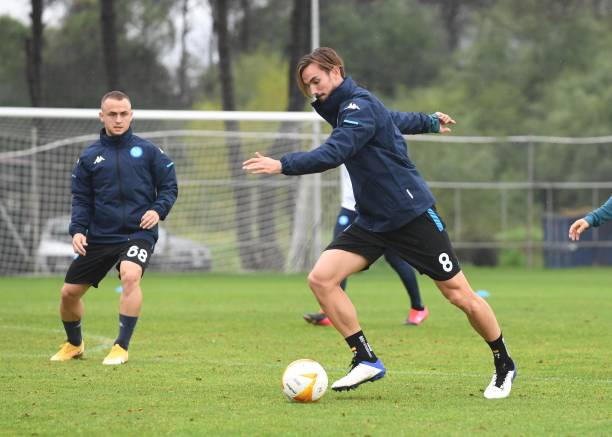 NLD: SSC Napoli - Press Conference And Training Session