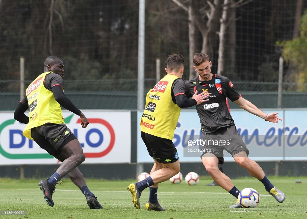 ITA: SSC Napoli Training Session