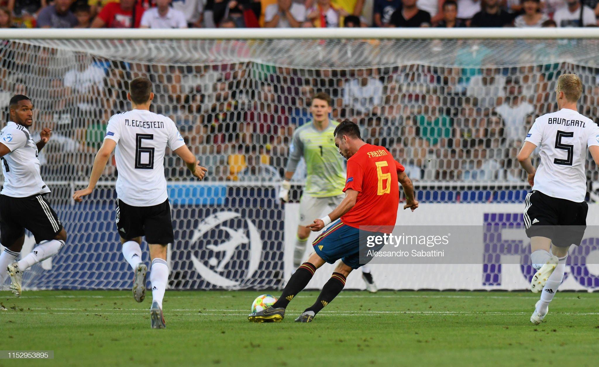 Spain v Germany - 2019 UEFA European Under-21 Championship Final : Fotografia de notícias