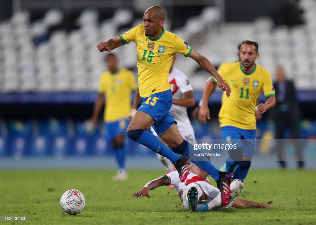 Brazil v Peru: Group B - Copa America Brazil 2021 : News Photo
