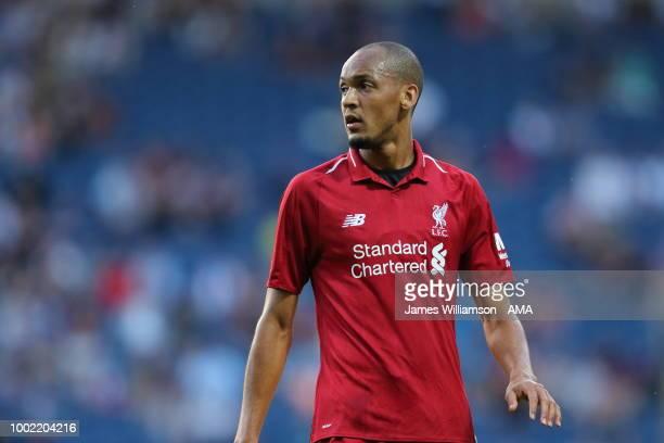 Fabinho of Liverpool at Ewood Park on July 19 2018 in Blackburn England