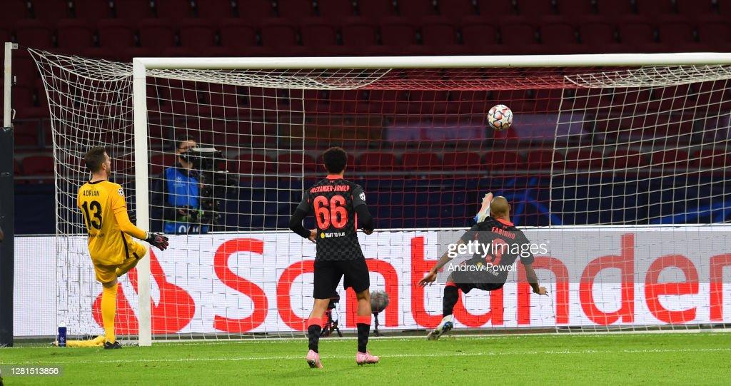 Ajax Amsterdam v Liverpool FC: Group D - UEFA Champions League : Foto di attualità