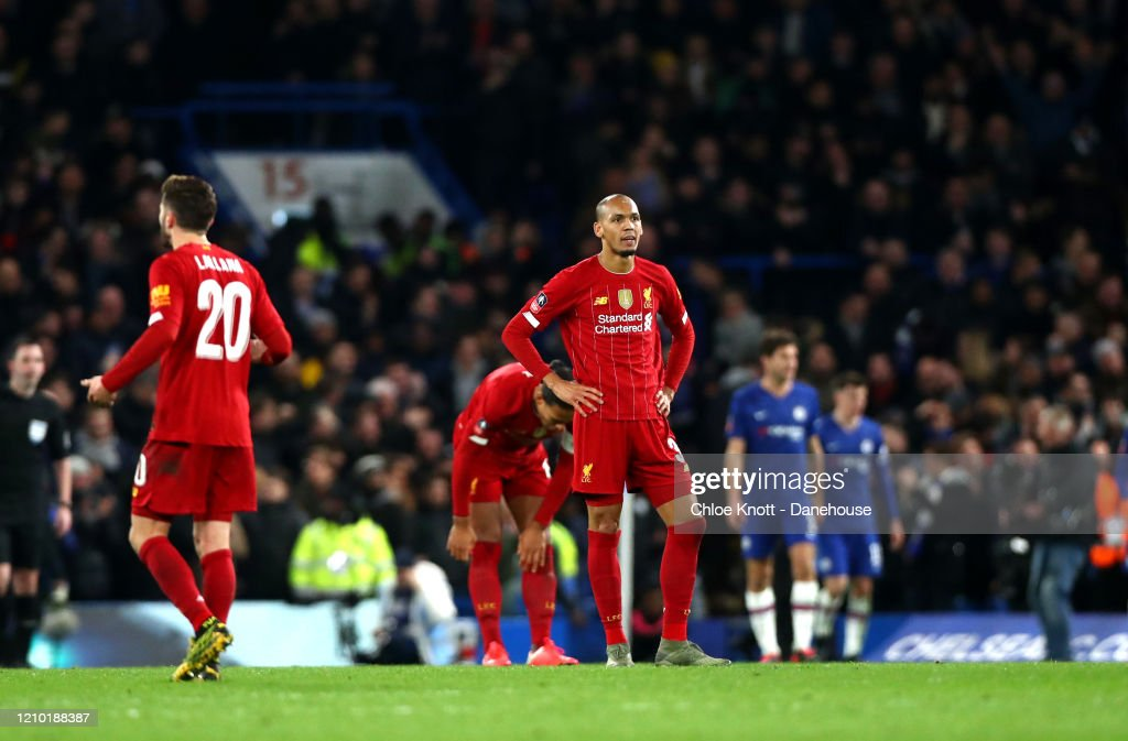 Chelsea FC v Liverpool FC - FA Cup Fifth Round : News Photo