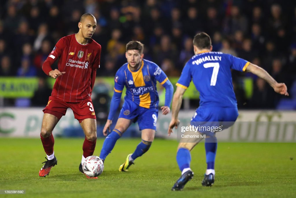 Shrewsbury Town v Liverpool FC - FA Cup Fourth Round : News Photo
