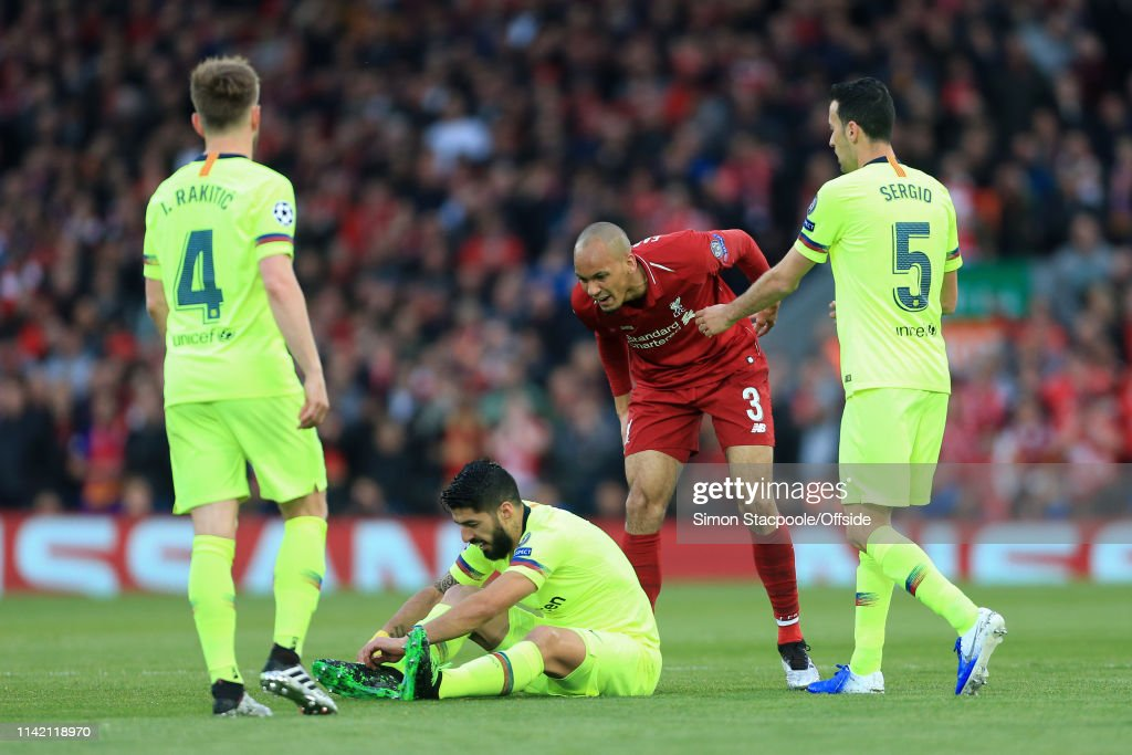 Liverpool v FC Barcelona - UEFA Champions League Semi Final: Second Leg : News Photo