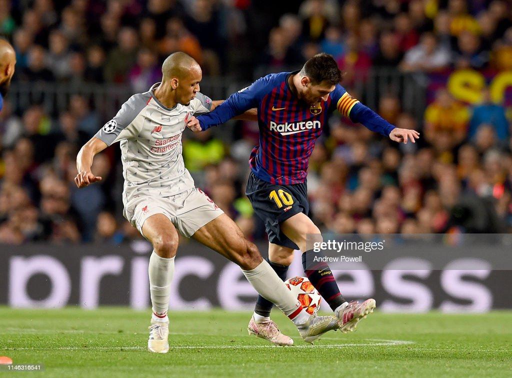 Barcelona v Liverpool - UEFA Champions League Semi Final: First Leg : News Photo