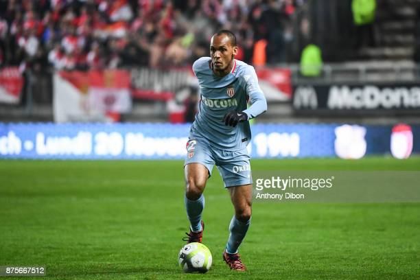 Fabinho of Monaco during the Ligue 1 match between Amiens SC and AS Monaco at Stade de la Licorne on November 17 2017 in Amiens