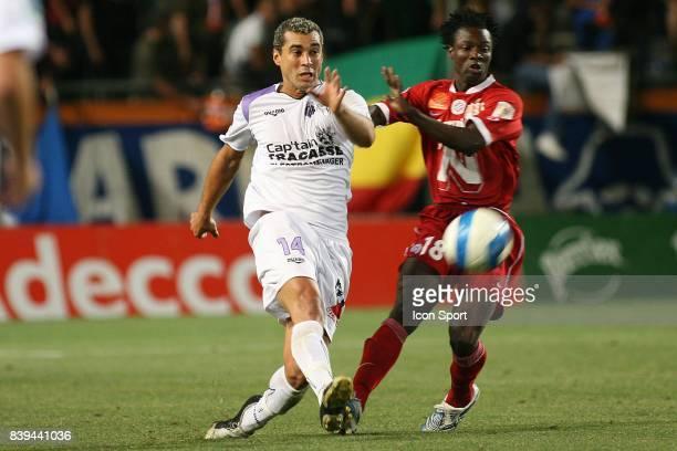 Fabio ALVES DA SILVA / Abdoulaye CISSE - Montpellier / Istres - - 4eme journee de Ligue 2 -