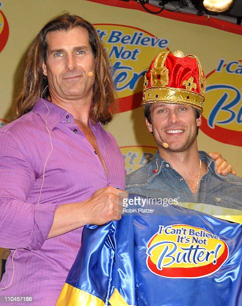 Fabio and Greg Vaughan aftering being announced as the winner