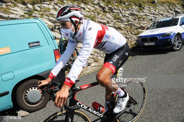 Fabio Aru of Uae Team Emirates. During the Tour de l'Ain - stage 3 from Saint Vulbas to Grand Colombier on August 9, 2020 in UNSPECIFIED, Unspecified.