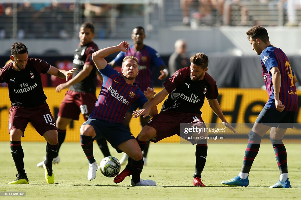 AC Milan v FC Barcelona - International Champions Cup 2018 : News Photo
