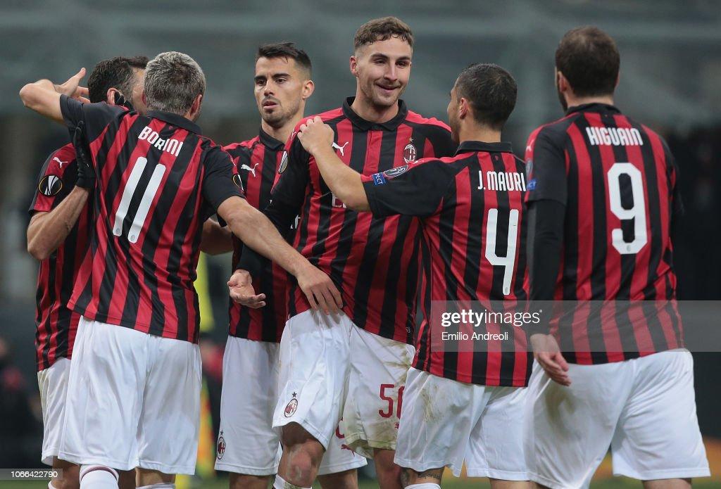 AC Milan v F91 Dudelange - UEFA Europa League - Group F : News Photo