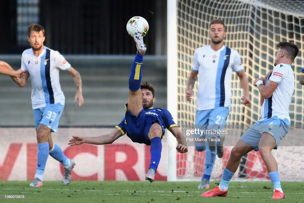 Hellas Verona v SS Lazio - Serie A : News Photo