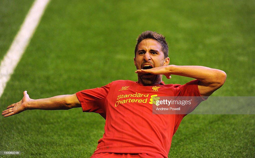 Liverpool v Gomel - UEFA Europa League Third Round Qualifier : News Photo