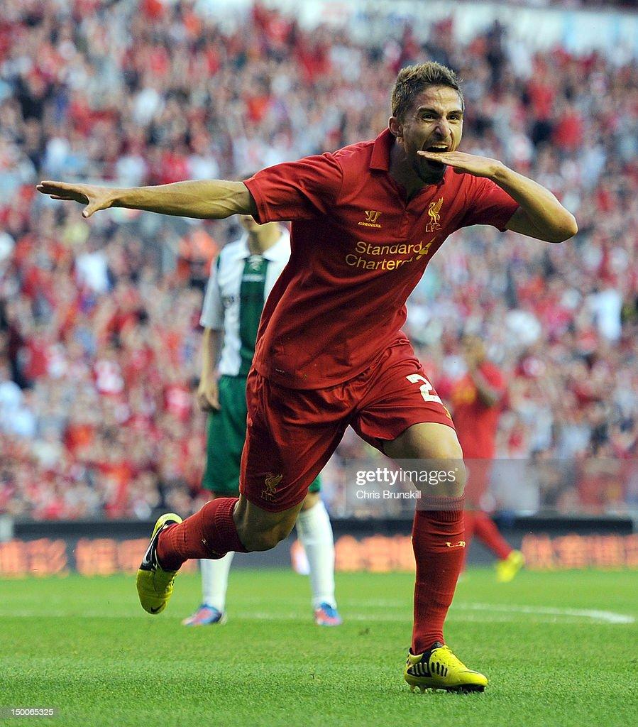 Liverpool v Gomel - UEFA Europa League Third Round Qualifier