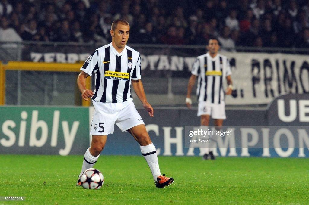 64d3f238d Fabio CANNAVARO - - Juventus   Bordeaux - Championas League 2009 ...