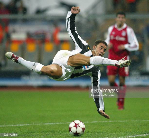 Fabio Cannavaro of Juventus in action during the Serie A 2004, Italy.