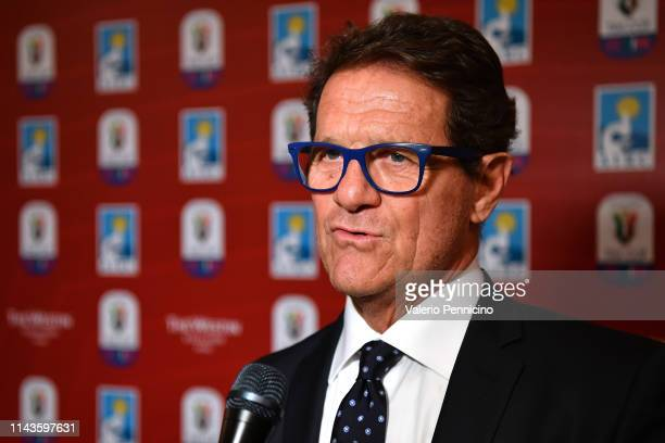 Fabio Capello attends during the Charity Gala Dinner on May 13, 2019 in Rome, Italy.