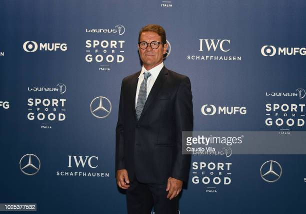 Fabio Capello attends Laureus F1 Charity Night on August 30 2018 in Milan Italy