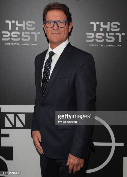 Fabio Capello attends the green carpet prior to The Best FIFA Football Awards 2019 at the Teatro alla Scala on September 23 2019 in Milan Italy