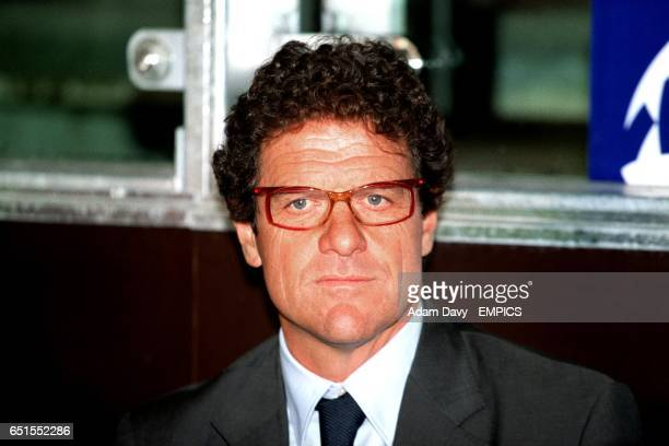 Fabio Capello Roma Coach