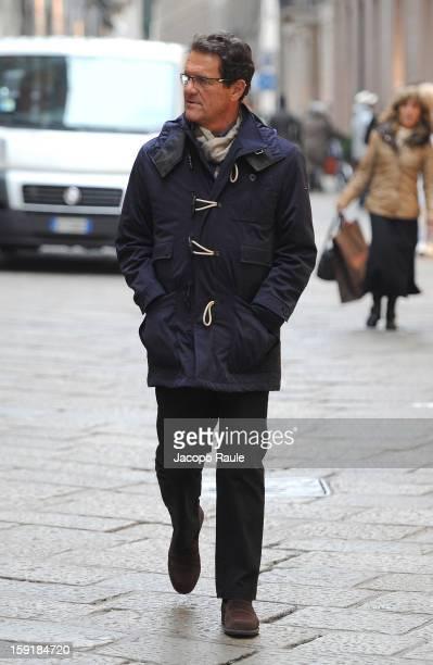 Fabio Capello sighted on January 9 2013 in Milan Italy