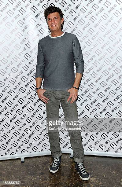 Fabio Castelli attends Imperfect Spring/Summer 2014 Fashion Show on October 18 2013 in Milan Italy