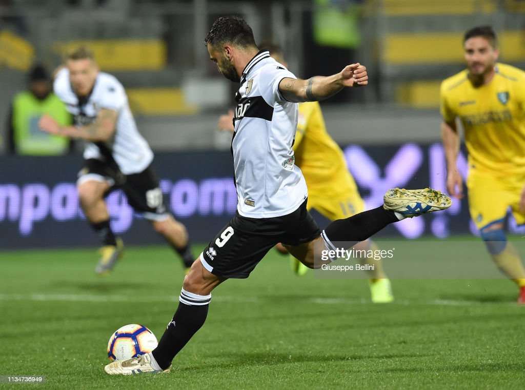 Frosinone Calcio v Parma Calcio - Serie A : News Photo