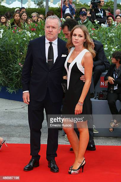 Fabio Conversi attends a premiere for 'The Wait' during the 72nd Venice Film Festival on September 5, 2015 in Venice, Italy.