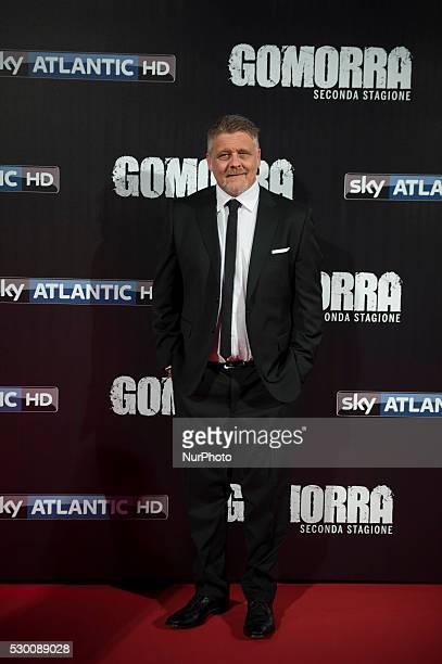 Fabio de Caro attends the 'Gomorra 2 - La serie' on red carpets at The Teatro dell'Opera in Rome, Italy on May 10, 2016.