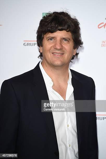 Fabio De Luigi attends the 'Soap Opera' Photocall during The 9th Rome Film Festival at the Auditorium Parco Della Musica on October 16 2014 in Rome...